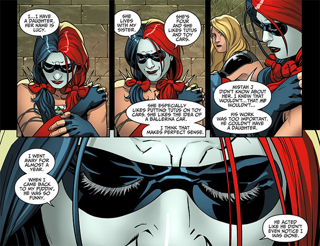 Injustice-Gods-Among-Us-Year-Two-13-Black-Canary-Harley-Quinn-daughter-Lucy