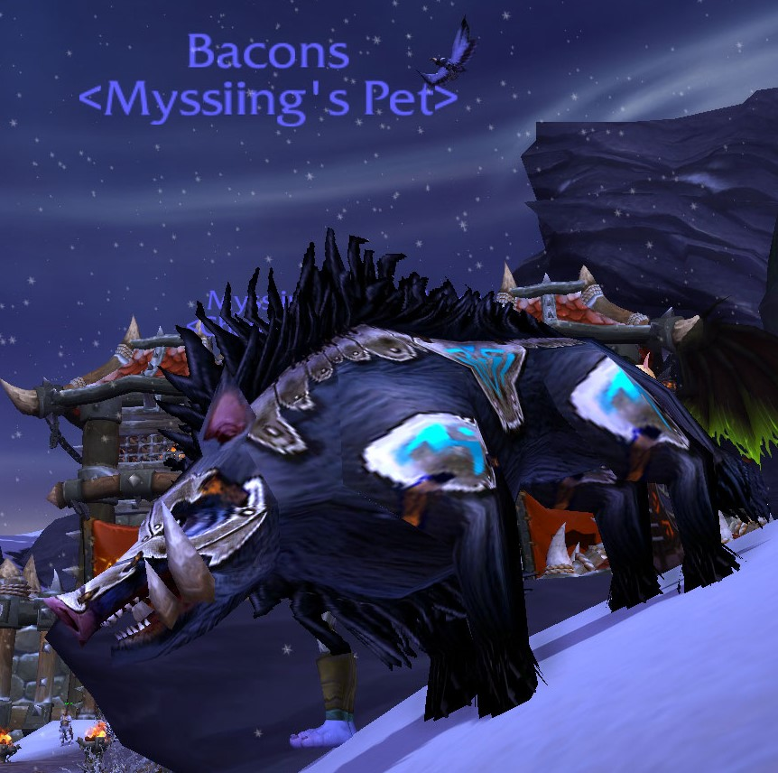 I admit it… I'm playing WoW again (and I re-found my fave weapon)